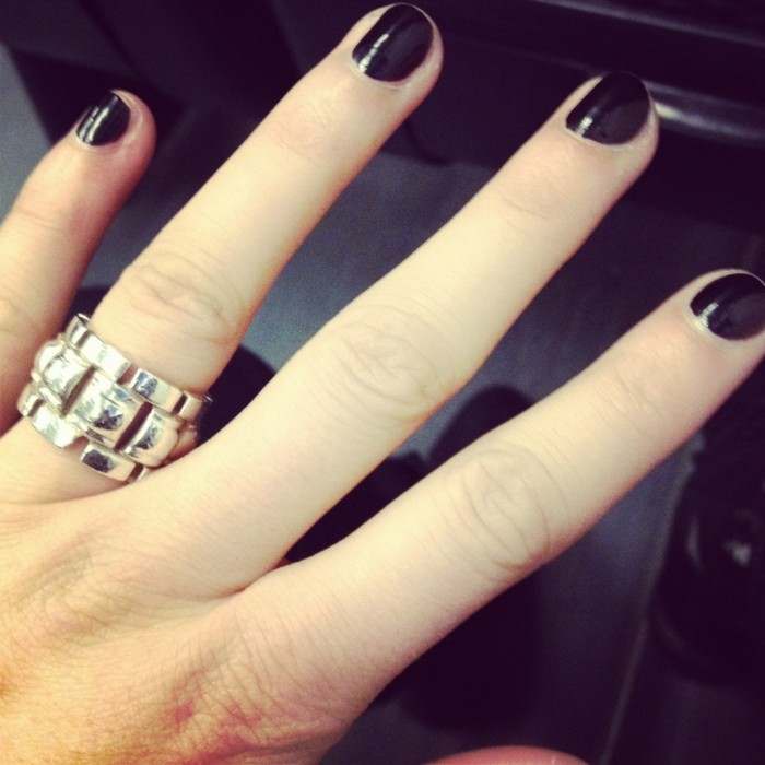 Black nails