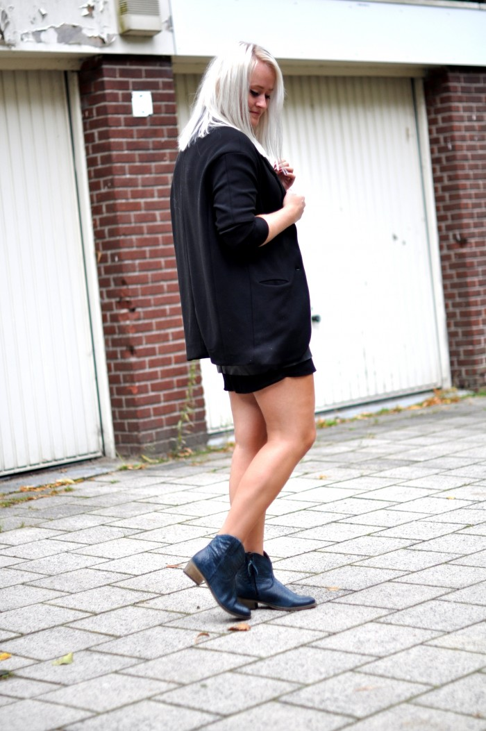 outfit black panther boots zign zara