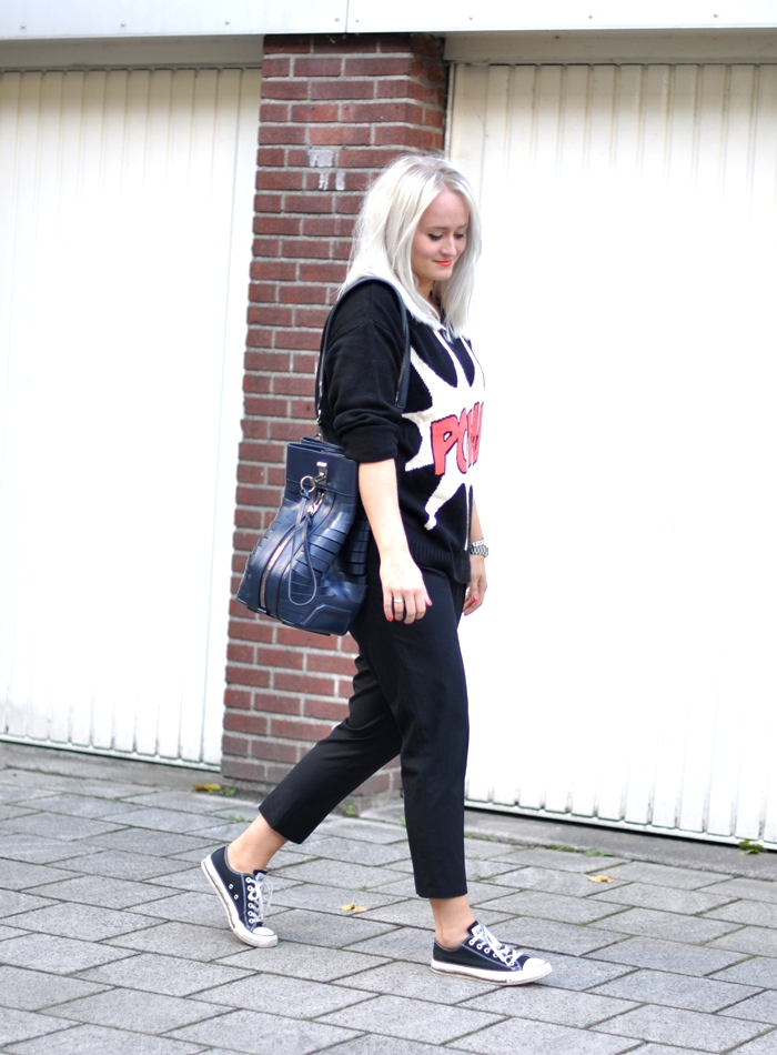 outfit pow alexander wang converse primark zara