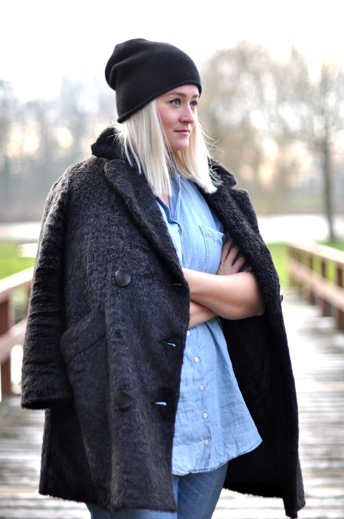 outfit all denim zara cos cashmere beanie antik boots - 6edabbbe360