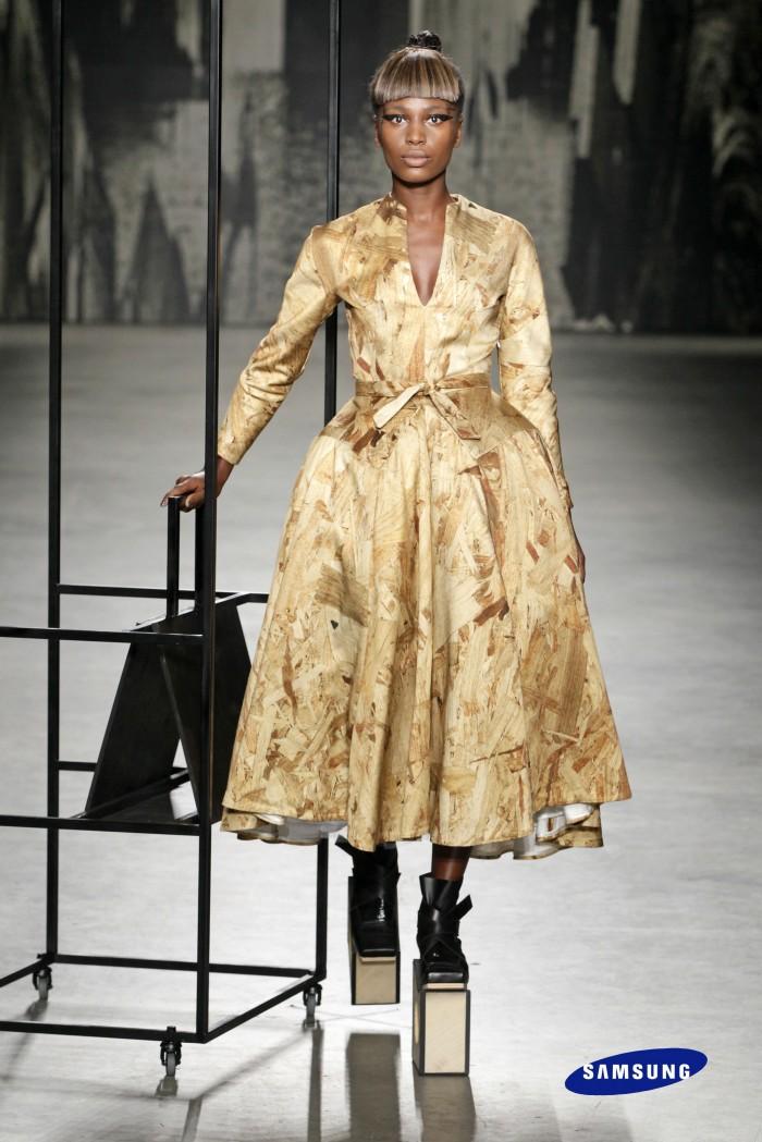Marga Weimans Samsung Fashion Week