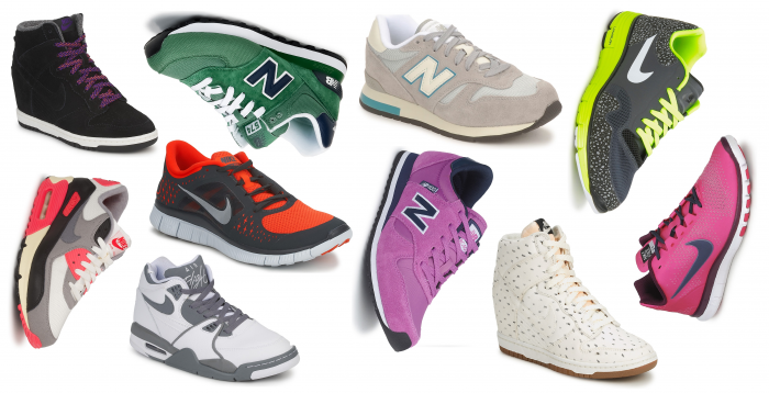 fave sneakers nike new balance