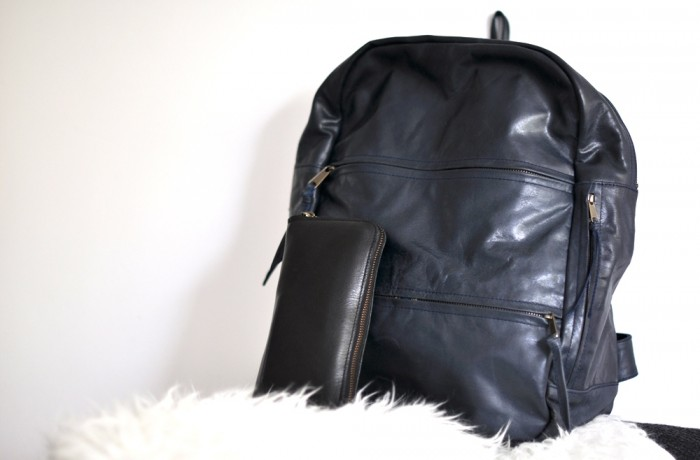 leather backpack GM Z