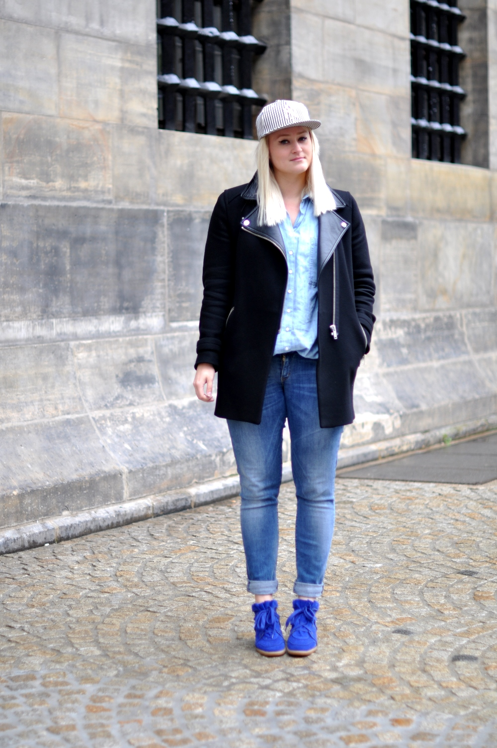 Outfit NY Cap Isabel Marant Bobby Sneakers (3