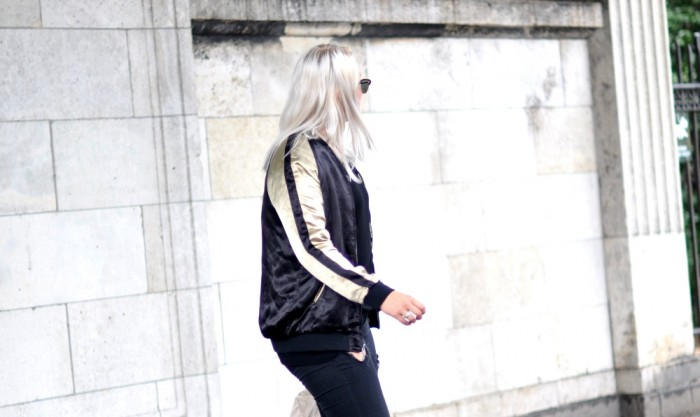 OUTFIT CPHFW ZARA JACKET AND OTHER STORIES SANDALSS RAYBAN CLUBMASTER RIPPED JEANS (5)
