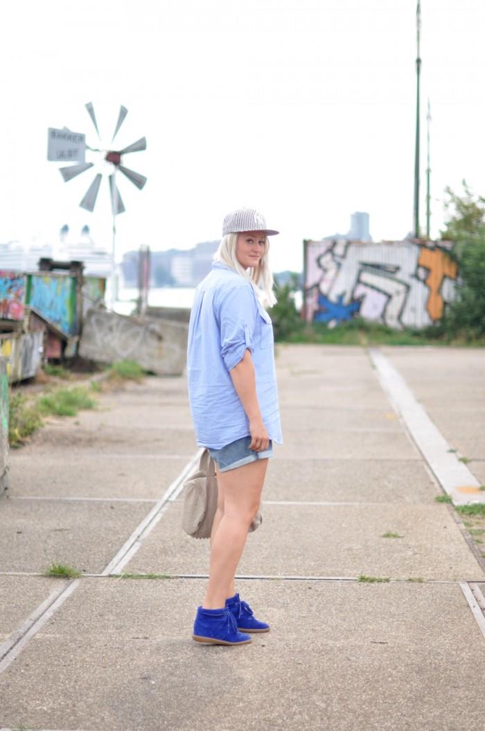 outfit isabel marant bobby NY cap  (2)