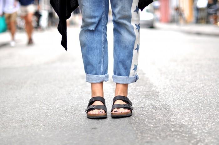 outfit river island star jeans birkenstocks copenhagen (5)