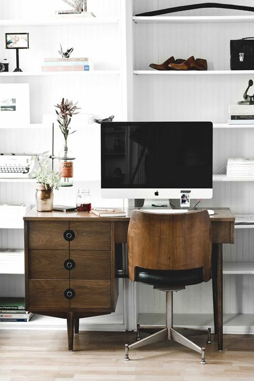 INTERIOR INSPIRATION WHITE SCANDINAVIANN WORKSPACE SIXFEETFROMTHEEDGE (4)