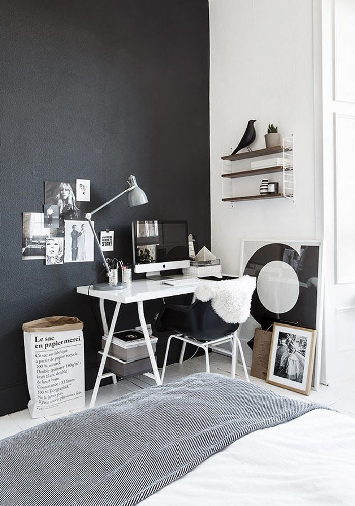 INTERIOR INSPIRATION WHITE SCANDINAVIANN WORKSPACE SIXFEETFROMTHEEDGE (6)