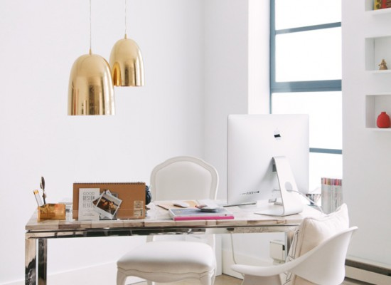 INTERIOR INSPIRATION WHITE SCANDINAVIANN WORKSPACE SIXFEETFROMTHEEDGE (9)