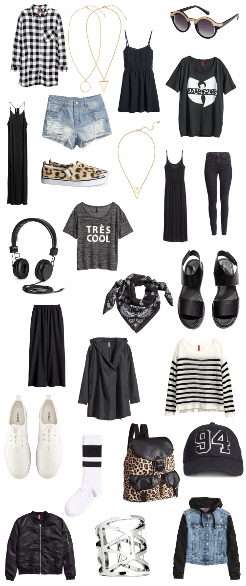 H&M collage Divided