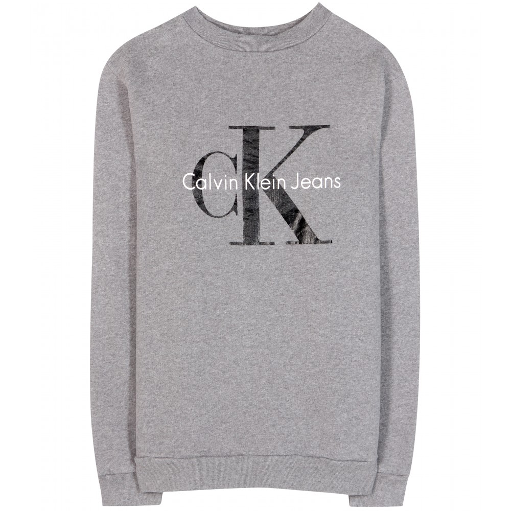 calvin klein logo sweater 1 six feet from the edge. Black Bedroom Furniture Sets. Home Design Ideas