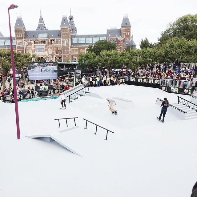 Dew Tours Amsterdam skateboard sffte sixfeetfromtheedge