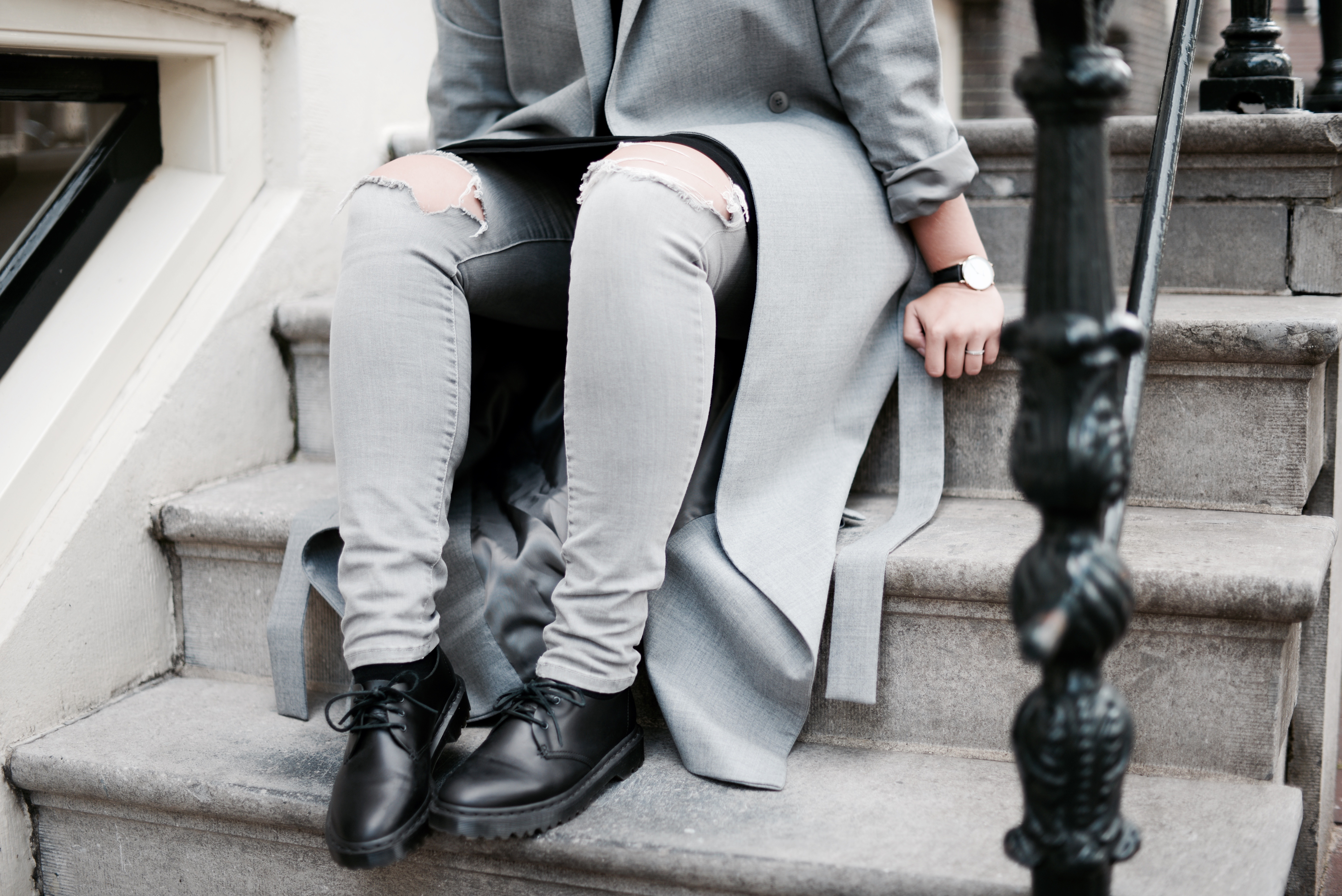 THAT GREY COAT