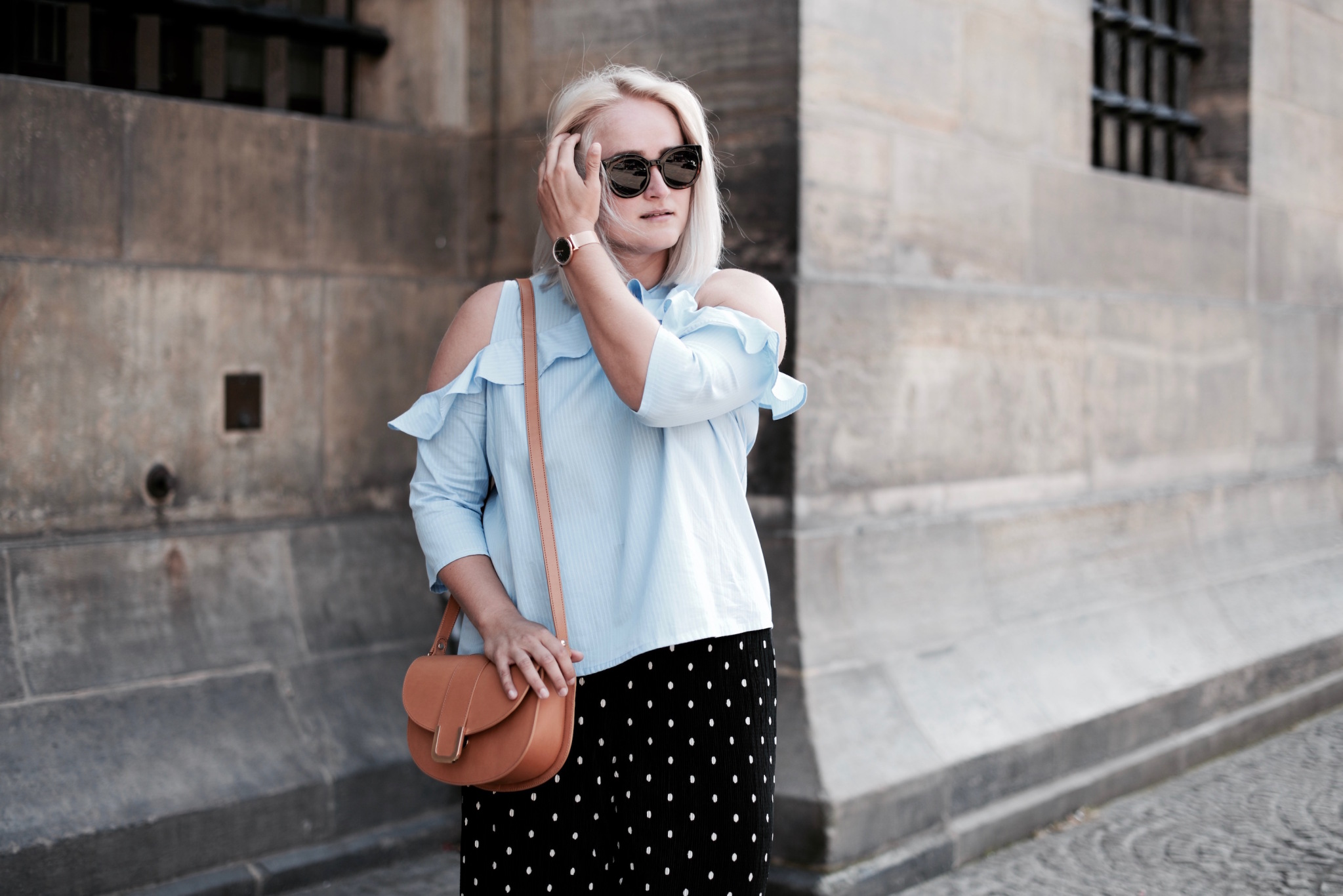 POLKADOTS AND RUFFLES (!)